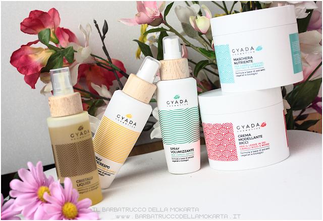 gyada cosmetics, vegan bio, capelli recensione hair routine