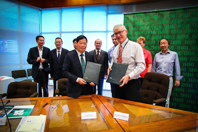 IRRI partners with JAAS to establish a joint innovation laboratory