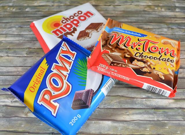 Inhalt Degustabox Januar '16 Schokolade