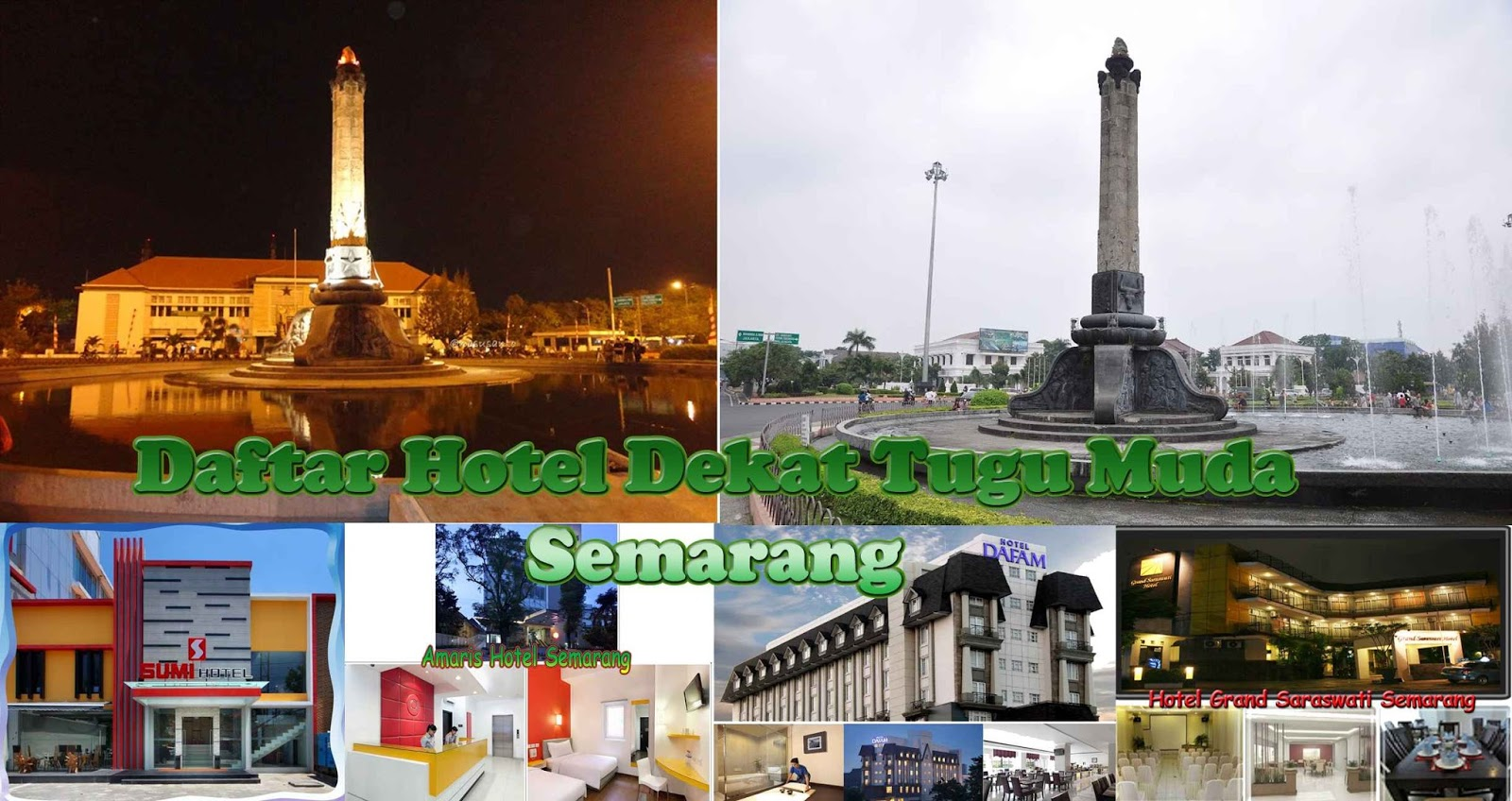 Dekat Tugu Muda Semarang Hotel Amaris Pemuda Lokasi Berada Di Jl No 138 Tarif Kamar Permalamnya Mulai Dari Rp297521