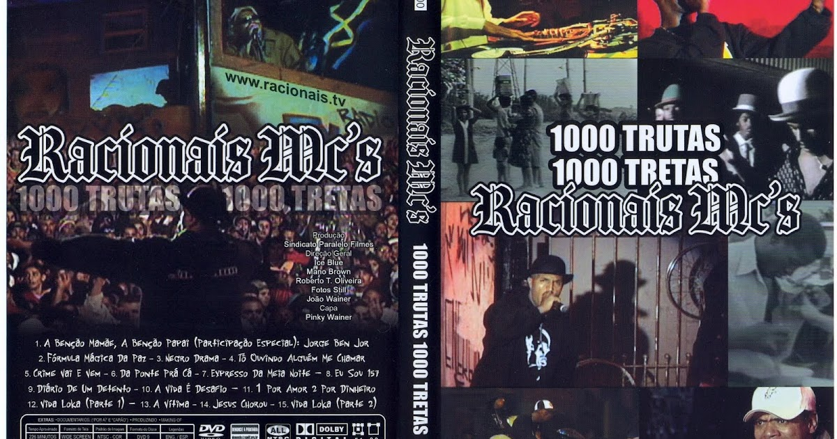 cd completo do racionais 1000 trutas 1000 tretas