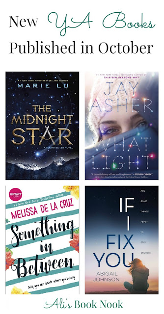 8 New Young Adult books coming out in October