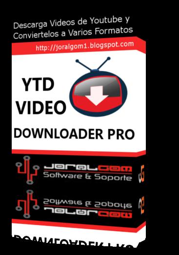 YTD Video Downloader Pro v5.3.0.1 Descarga Videos de Youtube y Conviertelos a DiFerentes Formatos !!!