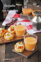 Gazpacho con tostaditas