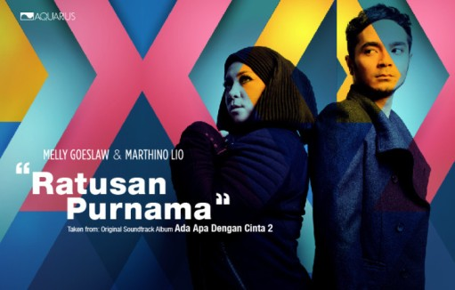 "Link download Lagu Melly Goeslaw & Marthino Lio - ""Ratusan Purnama"" OST AADC 2 (Ada Apa Dengan Cinta 2) - www.blankon-ku.com"