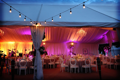 Captiva Island florida wedding, tent at south seas resort