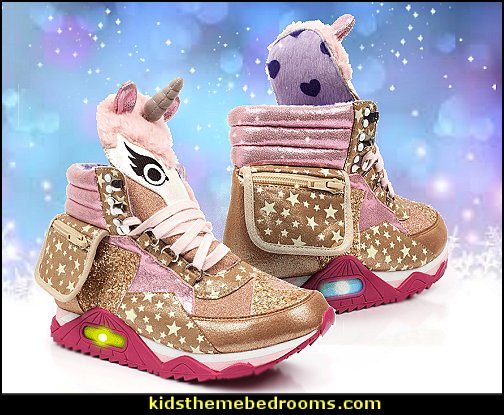 Unicorn Leather Sneakers  unicorn bedding - unicorn decor - unicorn bedroom ideas - unicorns - Unicorn & Rainbows bedrooms -  unicorn duvet - fantasy theme bedroom decorating ideas - fairytale bedrooms decor - pegasus decor - unicorn wall murals - Unicorn bedroom decor - unicorn wall decals - unicorn baby bedrooms - unicorn baby girl bedroom - unicorn crib bedding -