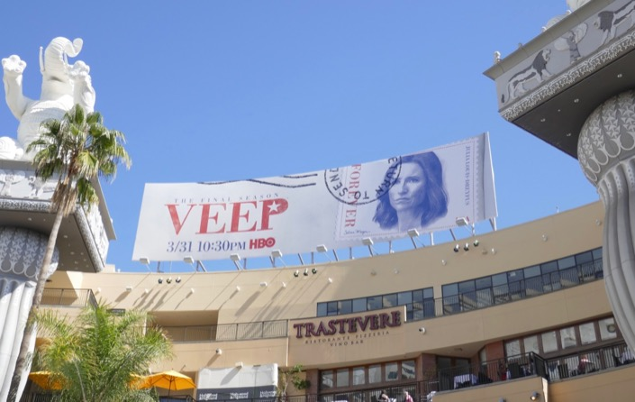Veep final season 7 billboard