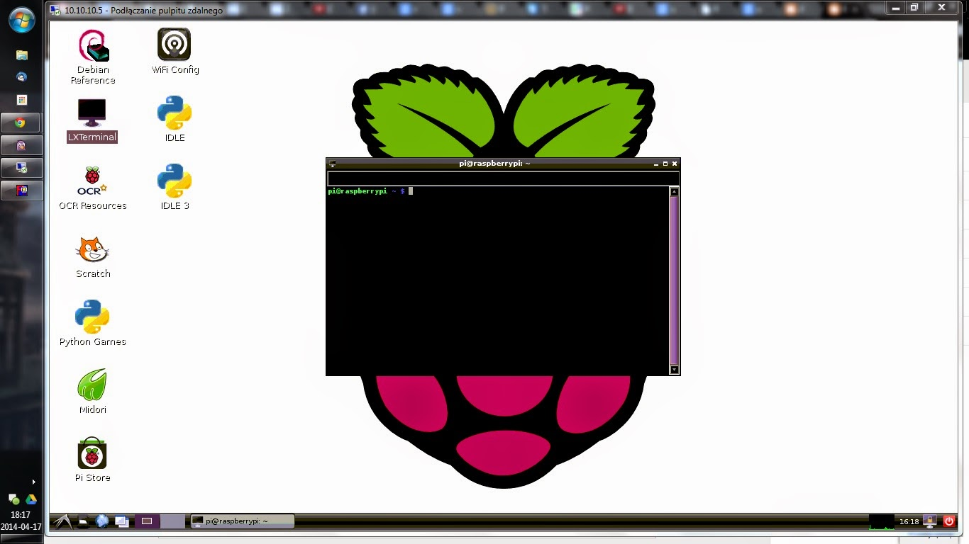 Raspberry Pi w Windowsie