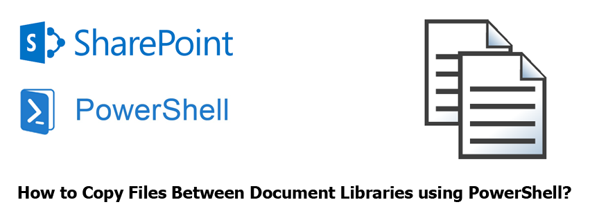 copy files between document libraries using powershell