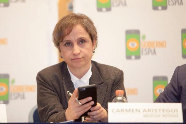 """""""Nuestro gobierno prefiere a los tontos"""": Carmen Aristegui"""