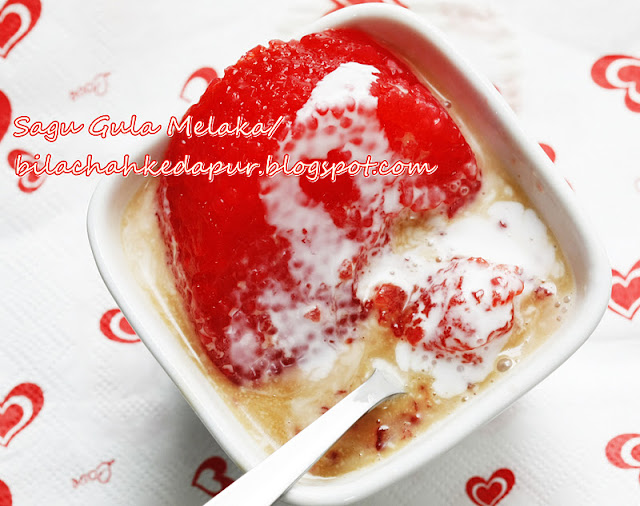 Bila Dijemput Ke Rumah Afiah Pasti Ada Dessert Ni Berpesta Rumbalah Semua Orang Bersenduk Senduk Sagu Masuk Perut Nasib Baik Cukup Stok Untuk