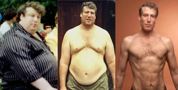 this man lost 220 pounds 100 kilos without dieting