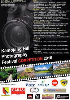 Fotografi Festival Kompetisi 2016 Kamojang Hill