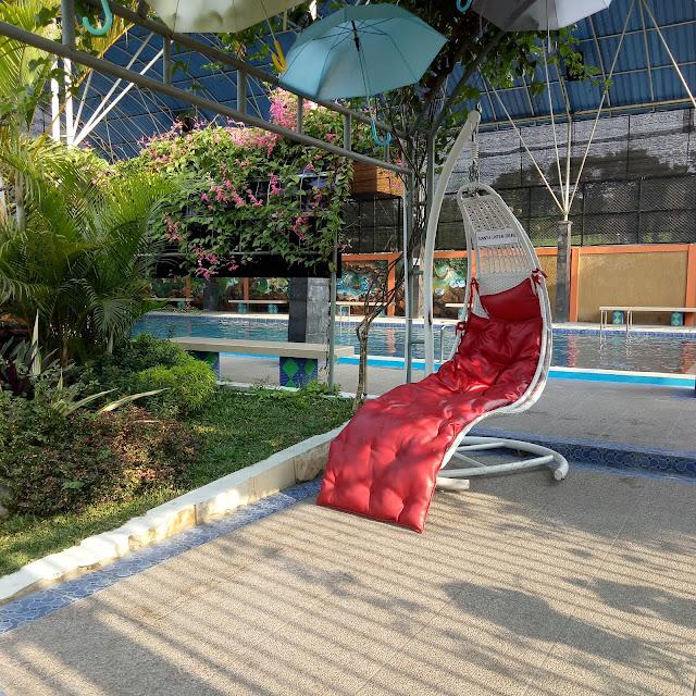 Kolam renang di Kediri