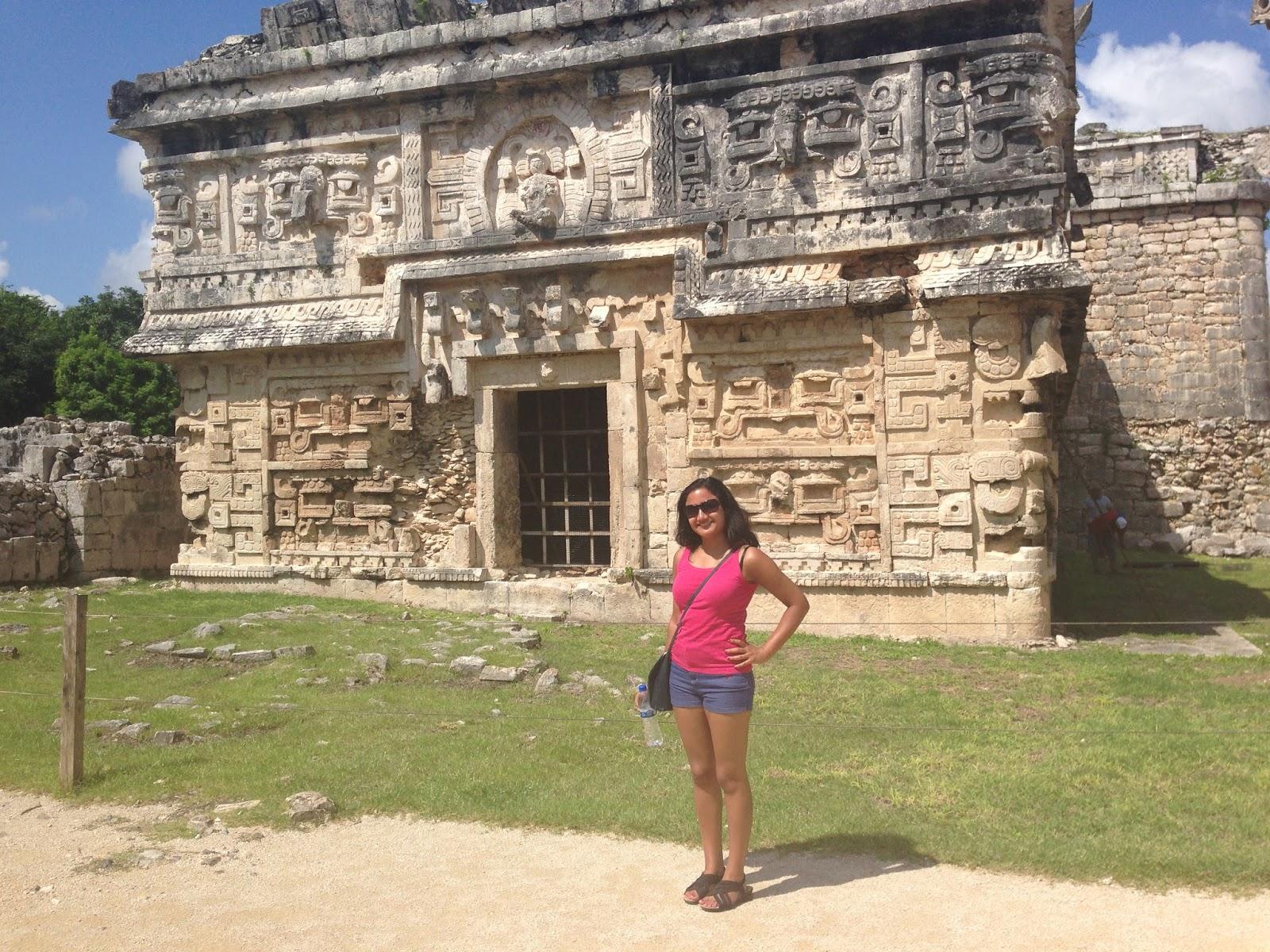 Visting Chichen Itza