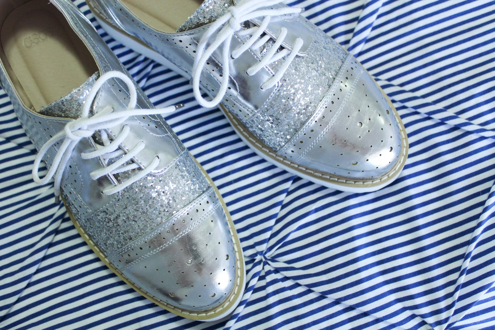 How To Style Metallic Brogues | Cate Renée