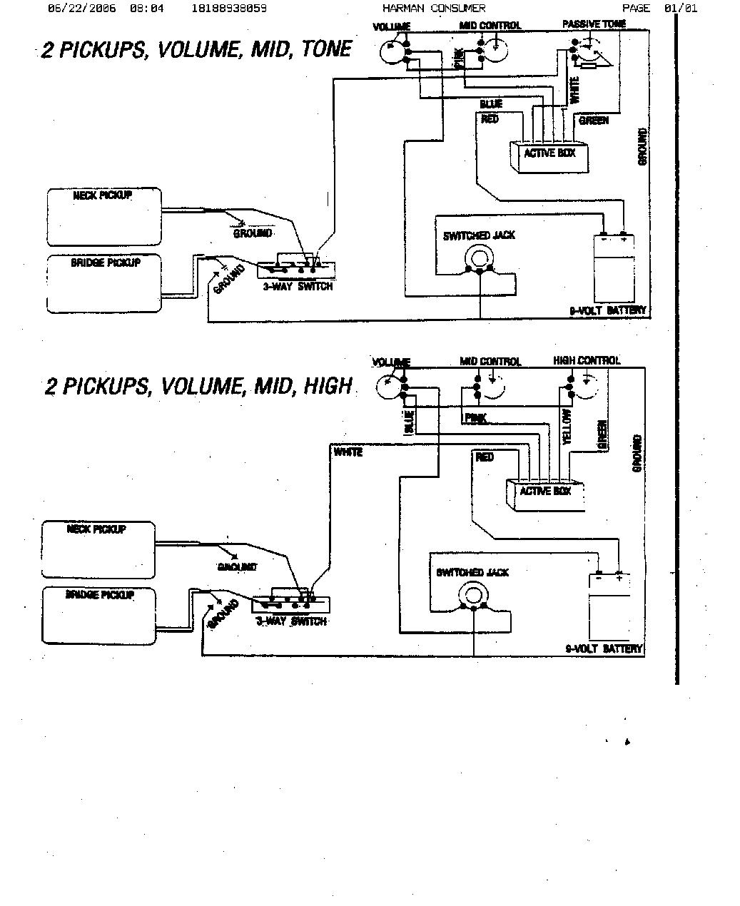 Gfs Fat Strat Wiring Diagram Third Level Pickup Jackson Hss Subcon Fender Stratocaster