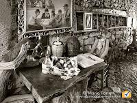 personaggi di legno di fabio Maccario a Musignano