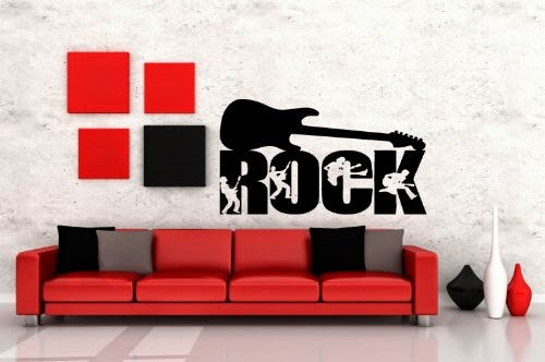 Bedroom Decor Ideas And Designs: Rock 'n' Roll Bedroom