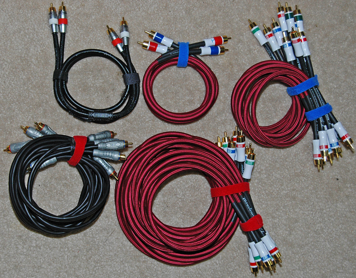 Audio Interconnect Cables Does Size Really Matter Home Theater Hdmi Wiring So There Are Definite Advantages To Digital Verses Analog At Least As Far More Bonus Photos Below Shows How I Have Managed Cable
