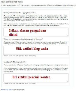 Melaporkan pencuri artikel alasan, alamat artikel dicuri, pencuri konten ke dmca