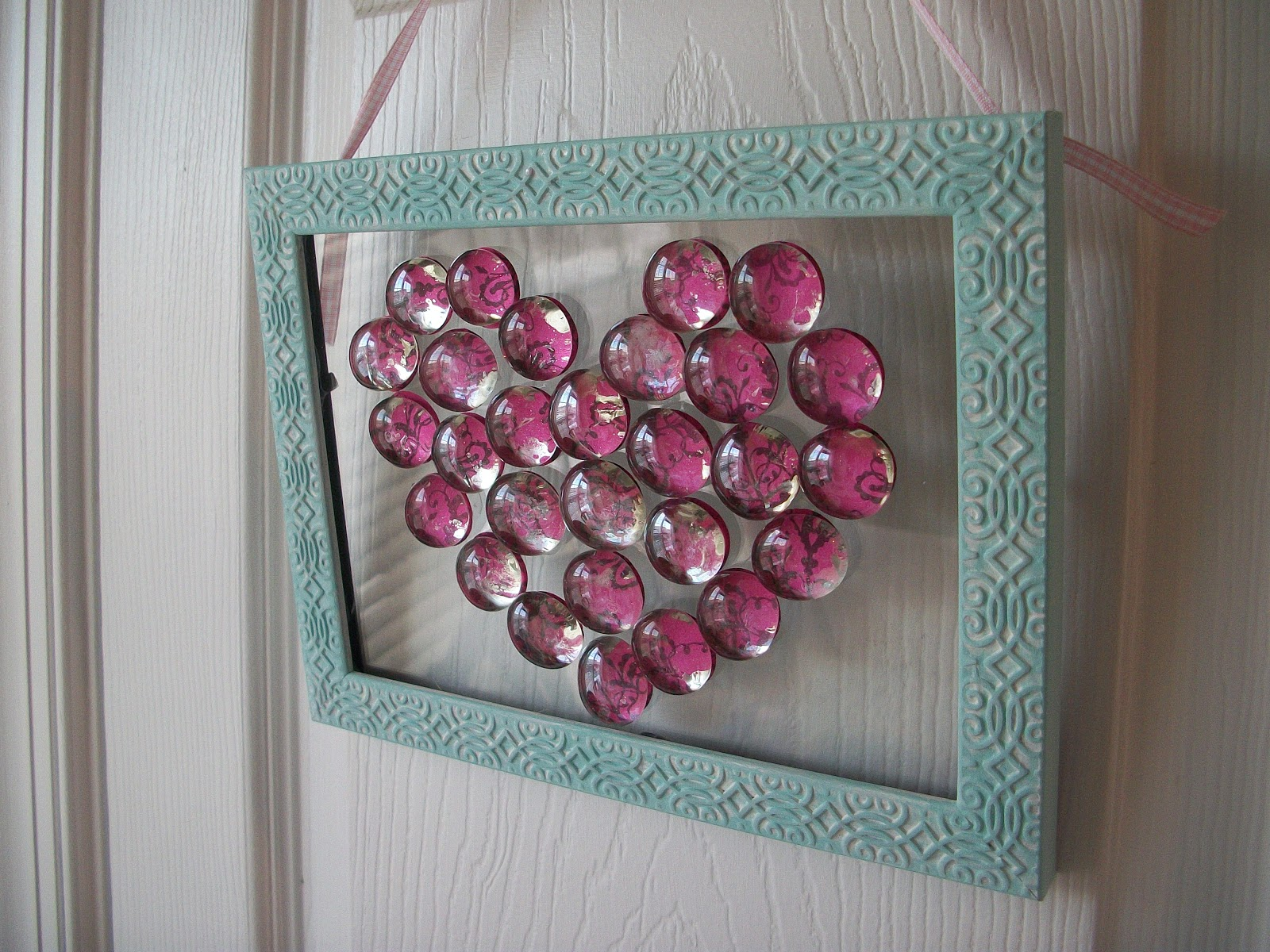 Bottle Cap Frame Craft Ideas