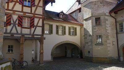 Innenhof Schloss Trachselwald