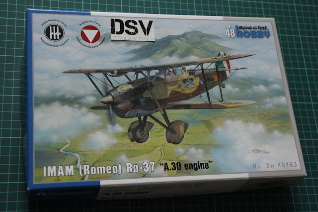 Special Hobby 1/48 Ro-37 A.30 Engine box