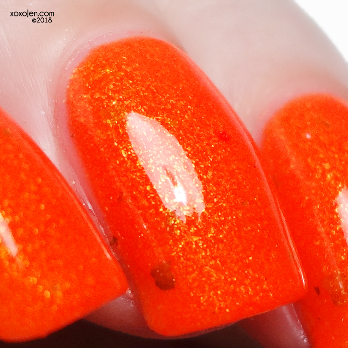 xoxoJen's swatch of Turtle Tootsie Polishes Feelin' HOT HOT HOT