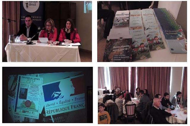 Μαραθώνιο αλά Γαλλικά «έτρεξε» το Κέντρο Ευρωπαϊκής Πληροφόρησης EUROPE DIRECT Περιφέρειας Πελοποννήσου