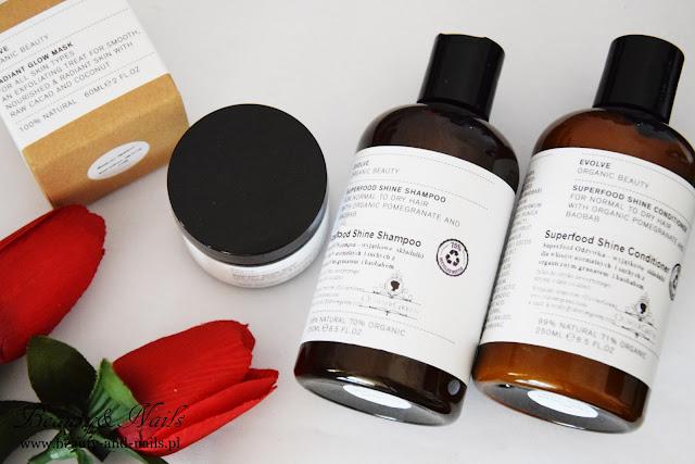 EVOLVE Organic | szampon i odżywka do włosów.