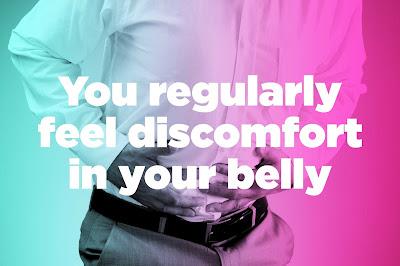 regular discomfort in your stomach