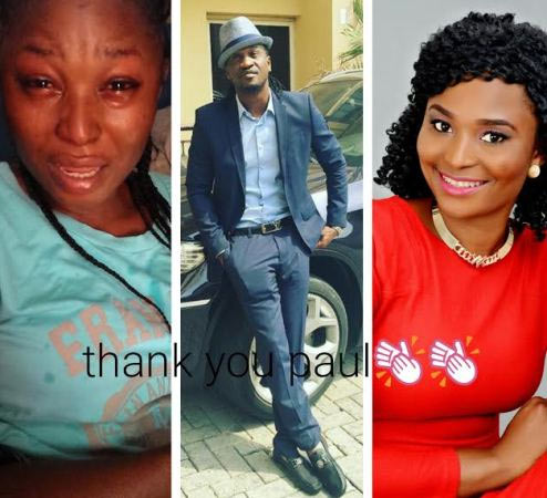 Paul Okoye rewarded me - Girl who cried for P-square brothers when they broke up