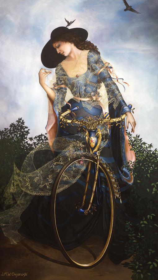 Intrique   Jane Whiting Chrzanoska 1948   American painter