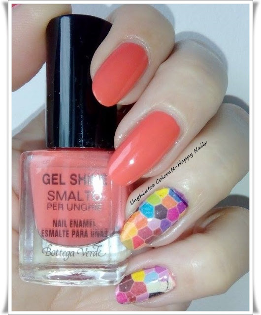 Unghiutze Colorate-Happy Nails: Saturday Theme #12 - Mosaic Nails