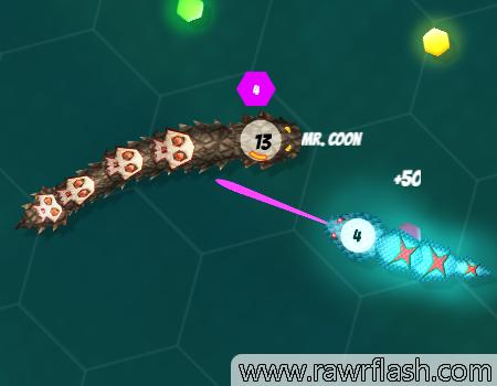 Jogos tipo Agar.io: Agario da cobrinha