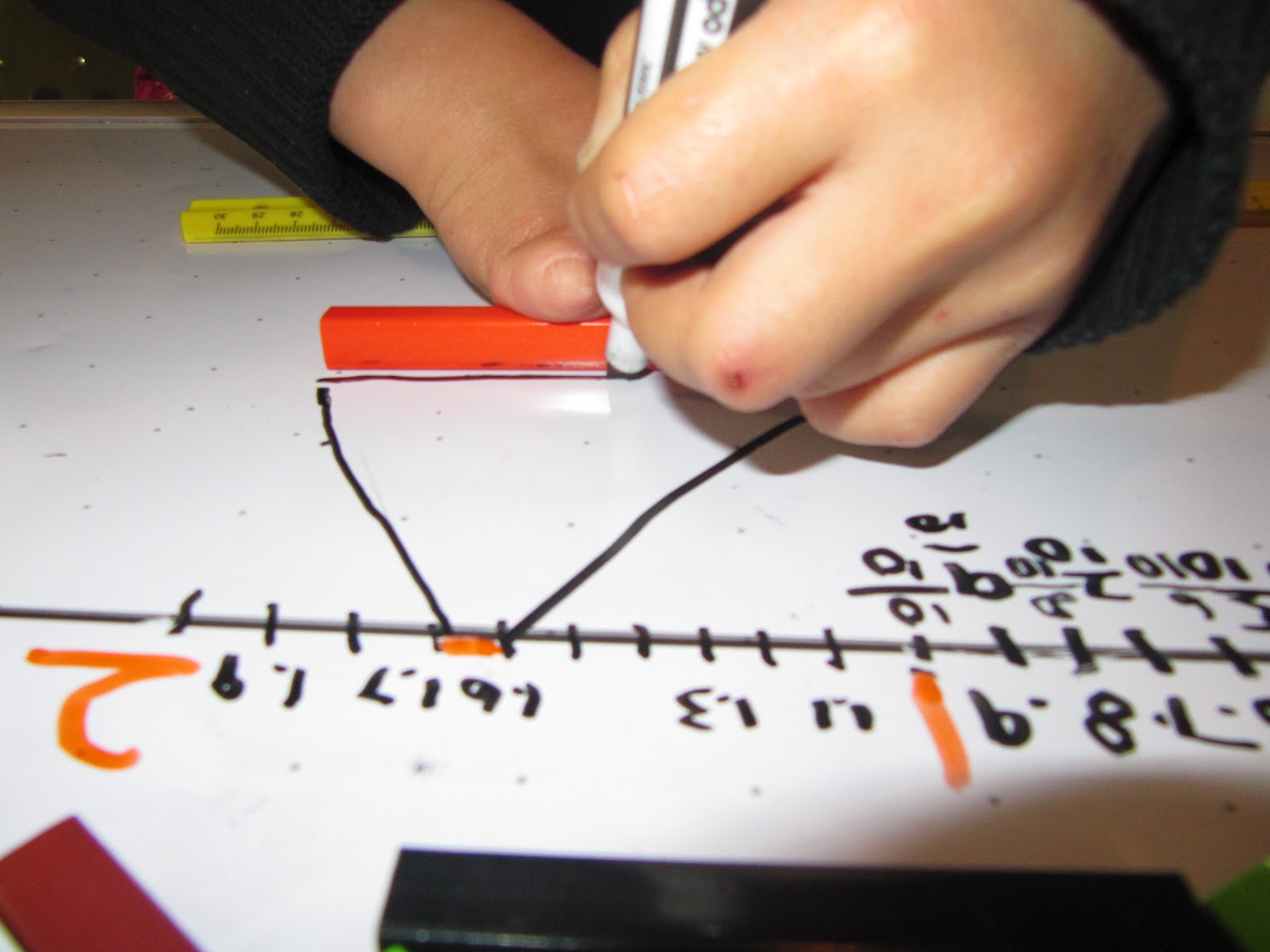 Homeschool Ninjas Teach Decimals With Cuisenaire Rods