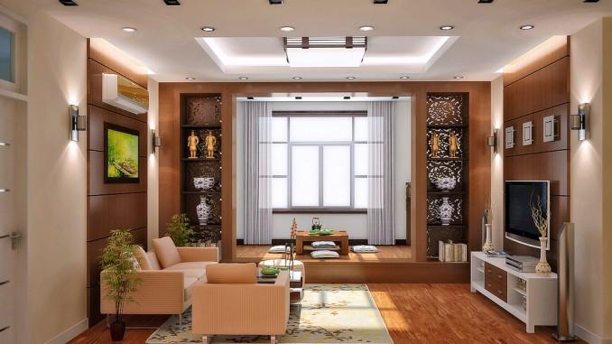 Desain Model Plafon Ruang Tamu Minimalis Yang Bagus Dan
