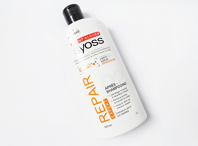 Syoss Repair Therapy Hair Care Product Conditioner Mask Shampoo Review liz breygel