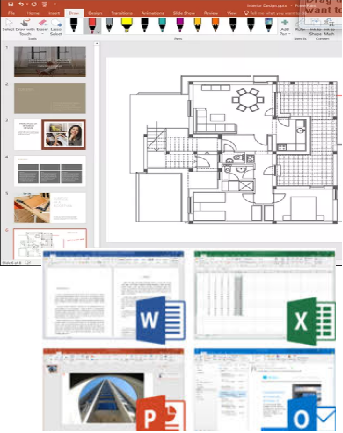 Review First and Download Microsoft Office 2019 Commercial Preview