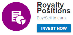 royalty positions rp mytrafficvalue share market