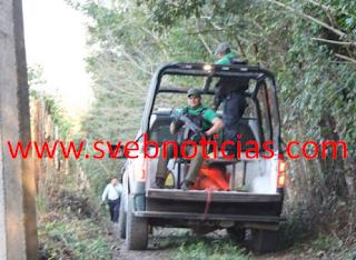 Hallan una fosa clandestina en Tihuatlan Veracruz