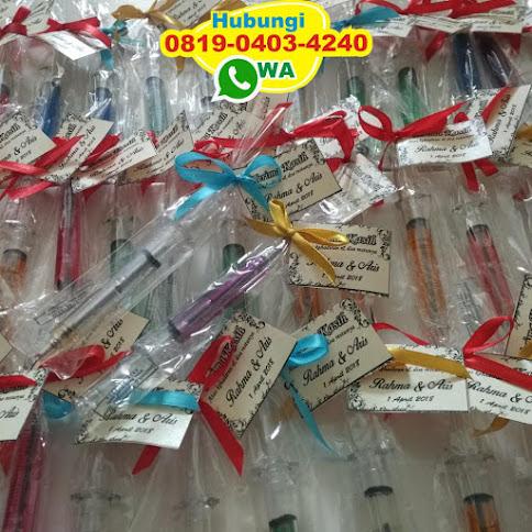 supplier souvenir bolpoint jarum suntik murah murah 51054