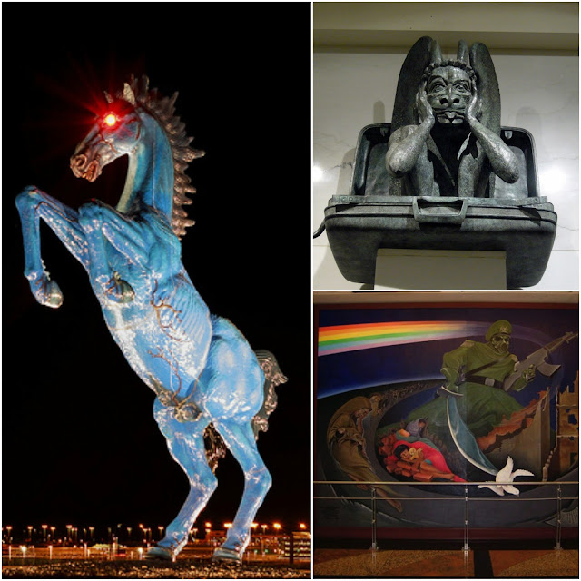 denver airport, 5 conspiracy theories, blog, interesting, crazy