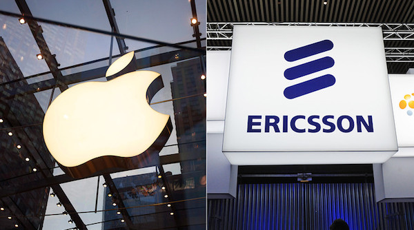 Apple e Ericsson assinam acordo de patente
