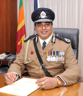 I have a wonderful folder of Facebook clippings of mud being thrown at me -- IGP Pujith Jayasundera