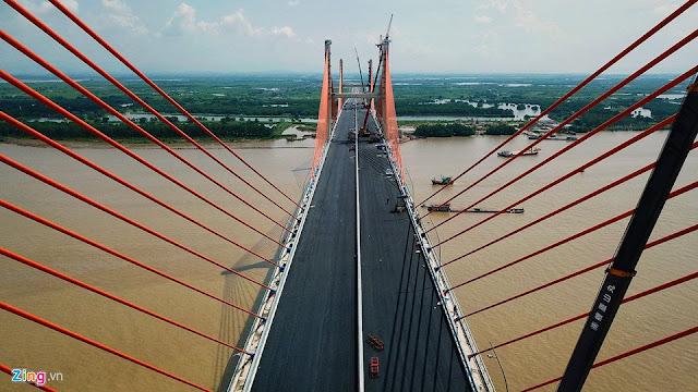 Cầu Bạch Đằng kết nối giao thông huyết mạch giữa Hải Phòng - Hạ Long