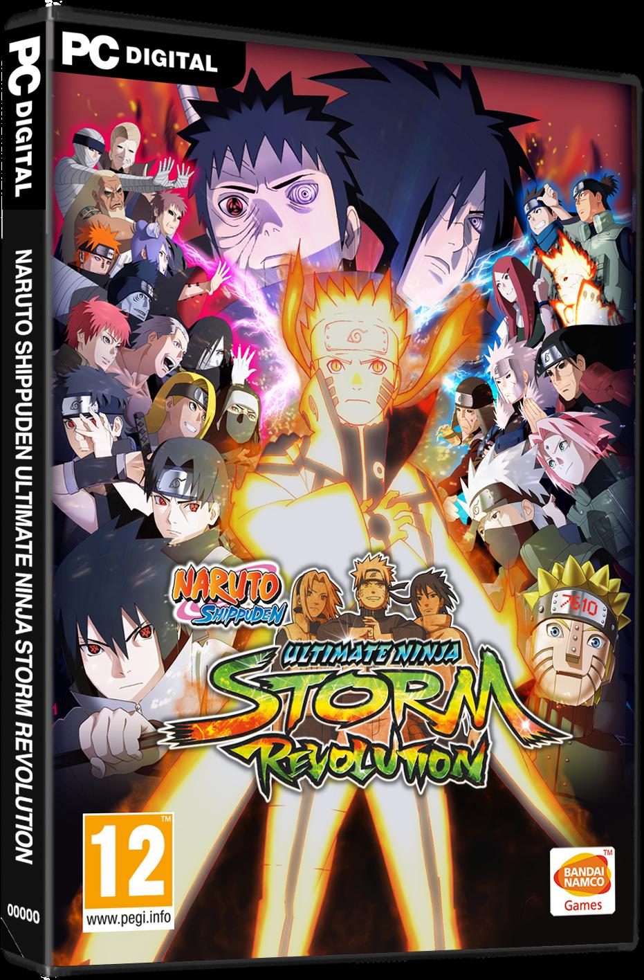 تحميل لعبة Naruto Shippuden Ultimate Ninja Storm Revolution