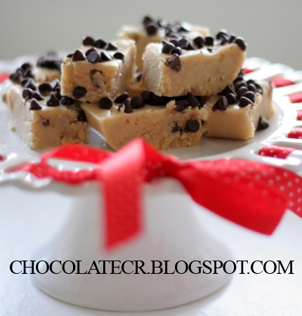 Chocolate Chip Cookie Dough Fudge Recipe